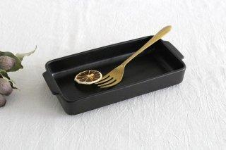 《耐熱陶器》萬古焼 スタックグラタン 黒 商品画像