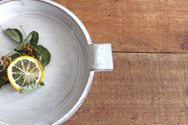 オーブンプレート 白 耐熱陶器 萬古焼 画像4