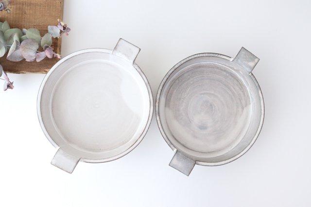 オーブンプレート 白 耐熱陶器 萬古焼 画像6