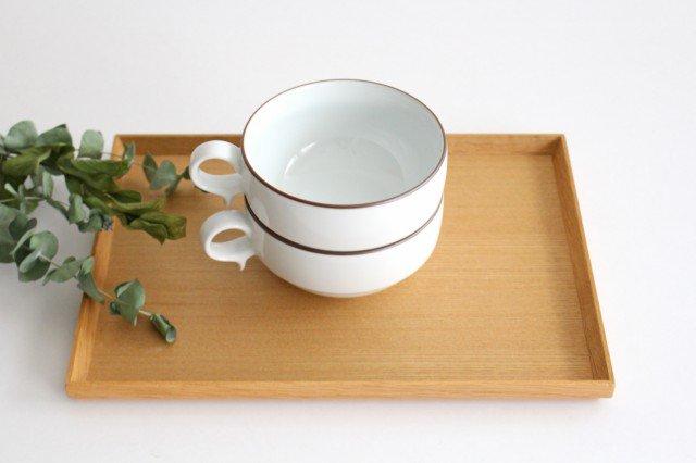 白山陶器 S型スープボウル 白マット 磁器 波佐見焼 画像6