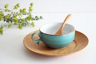 白山陶器 S型スープボウル グリーンマット 磁器 波佐見焼商品画像