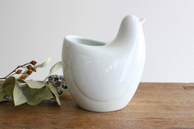 白山陶器 とり型フリースタンド 磁器 波佐見焼 画像4