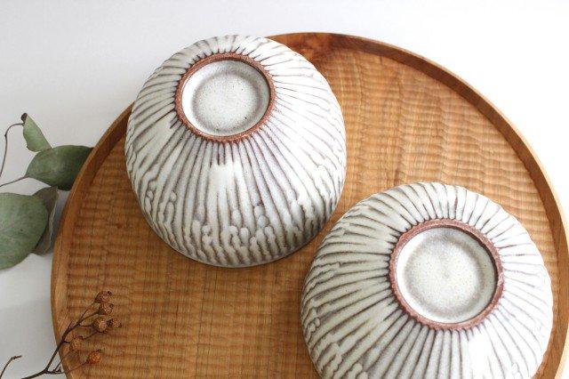 ボウル S さざなみ 陶器 シモヤユミコ 画像2