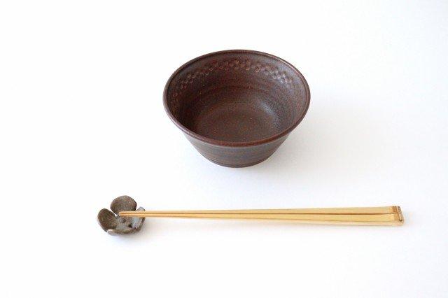 ブラウン小鉢 陶器 中野明彦 画像2