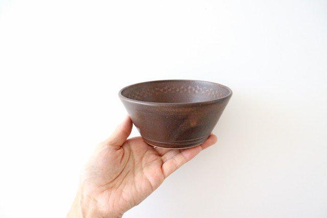 ブラウン小鉢 陶器 中野明彦 画像6