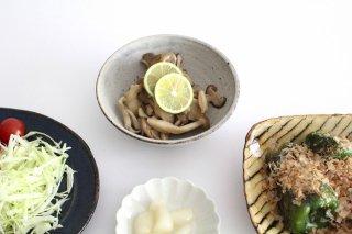 4寸鉢 白 陶器 寺田昭洋商品画像
