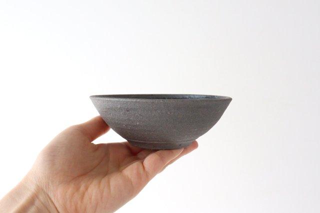 4寸鉢 黒 陶器 寺田昭洋 画像5