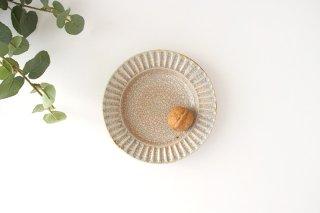 取皿 墨入貫入 陶器 はなクラフト商品画像