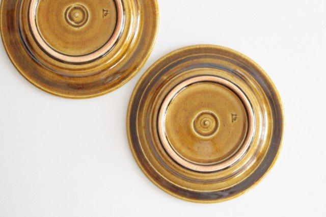 取皿 飴釉 陶器 はなクラフト 画像2