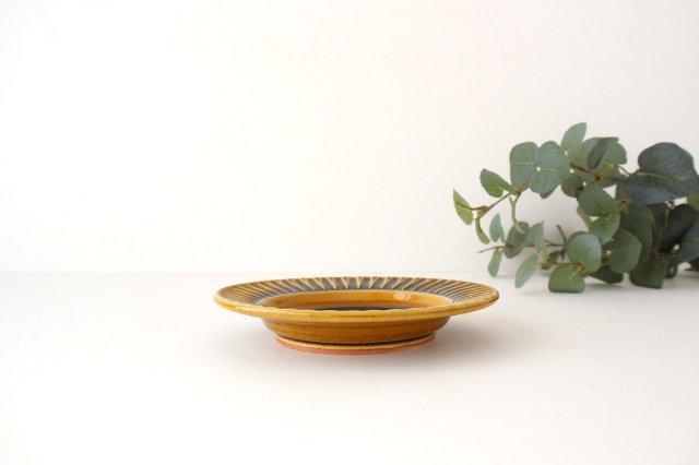 取皿 飴釉 陶器 はなクラフト 画像3