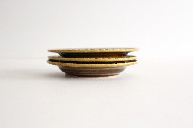 取皿 飴釉 陶器 はなクラフト 画像4