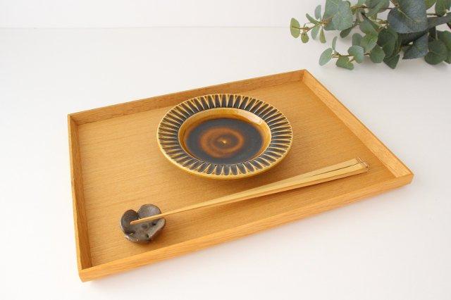 取皿 飴釉 陶器 はなクラフト 画像5