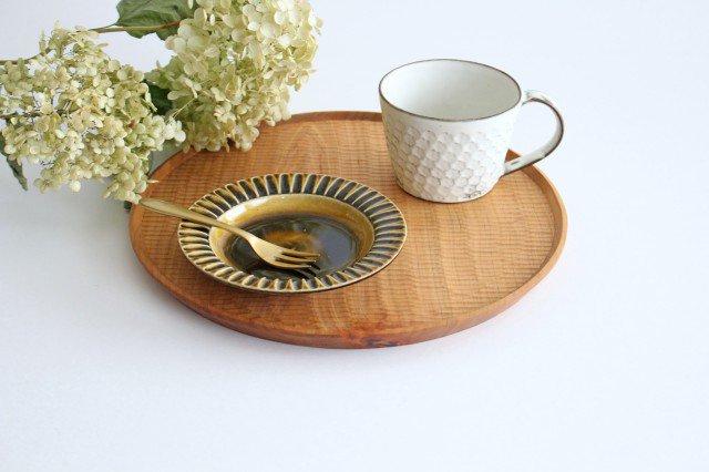 取皿 飴釉 陶器 はなクラフト 画像6