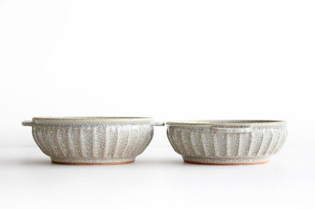 耳付鉢 墨入貫入 陶器 はなクラフト 画像5