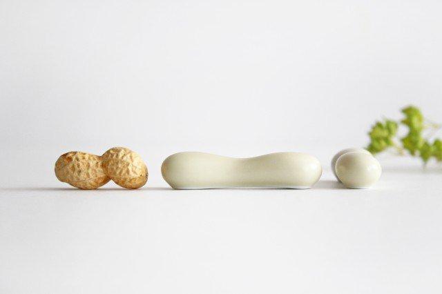白山陶器 はしおき ナッツ ベージュマット 磁器 波佐見焼 画像4