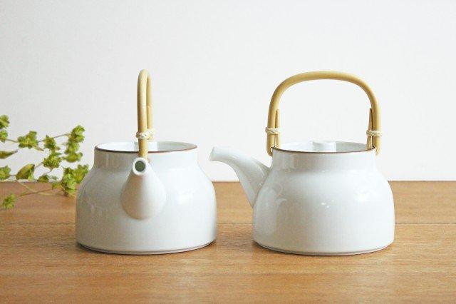 白山陶器 ベーシック 土瓶 白マット 磁器 波佐見焼 画像3