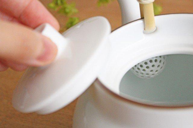 白山陶器 ベーシック 土瓶 白マット 磁器 波佐見焼 画像5