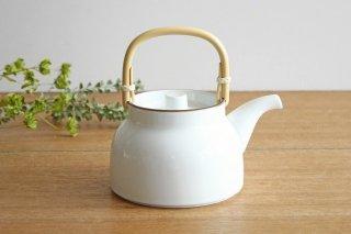 白山陶器 ベーシック 土瓶 白マット 磁器 波佐見焼商品画像
