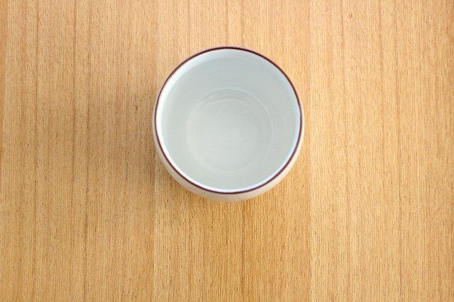 煎茶碗 ベーシック 白マット 磁器 白山陶器 波佐見焼 画像2