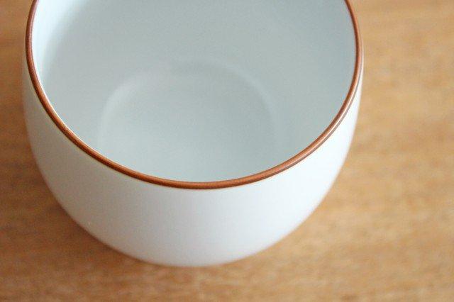 煎茶碗 ベーシック 白マット 磁器 白山陶器 波佐見焼 画像6