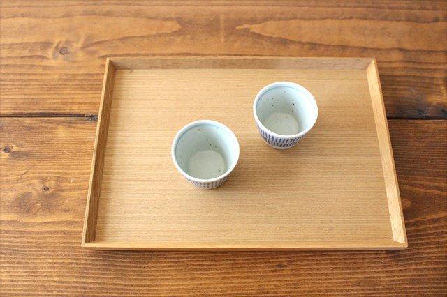 蕎麦猪口(ミニ) 呉須刷毛目 磁器 砥部焼 中田窯 画像3