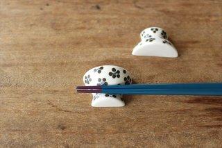 砥部焼 箸置き 茶碗 小紋 磁器 すこし屋商品画像