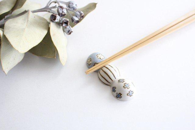 箸置き だんご 磁器 すこし屋 砥部焼 画像2