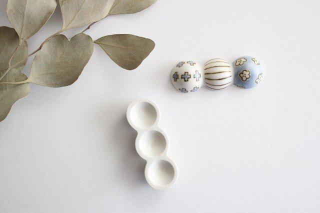 箸置き だんご 磁器 すこし屋 砥部焼 画像3