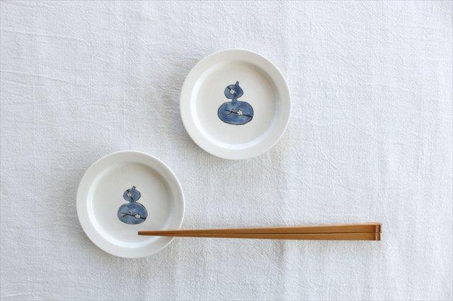 砥部焼 豆皿 ひょうたん 磁器 すこし屋 画像6