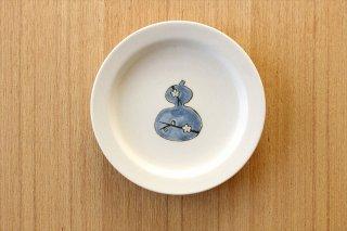 砥部焼 豆皿 ひょうたん 磁器 すこし屋商品画像