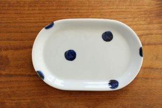 楕円皿 太丸 磁器 雲石窯 砥部焼商品画像