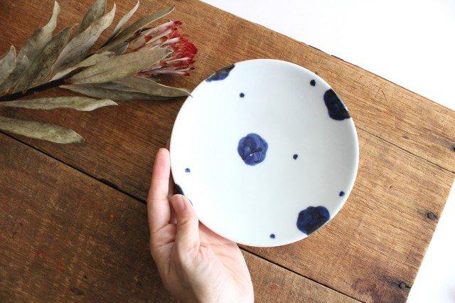 5寸丸皿 梅文 磁器 雲石窯 砥部焼 画像4