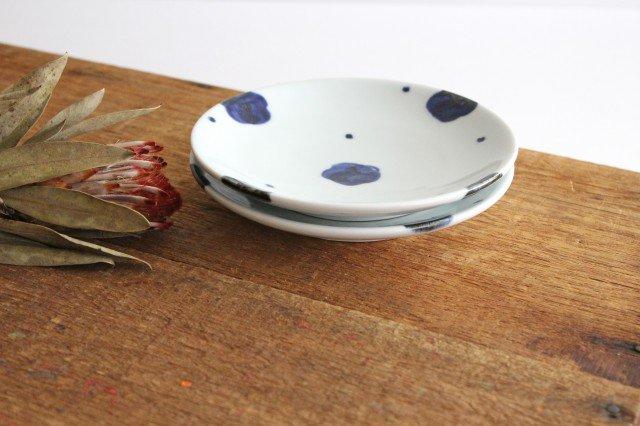5寸丸皿 梅文 磁器 雲石窯 砥部焼 画像6
