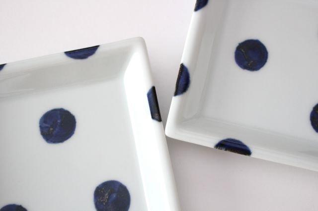 正方皿 太丸 磁器 雲石窯 砥部焼 画像2