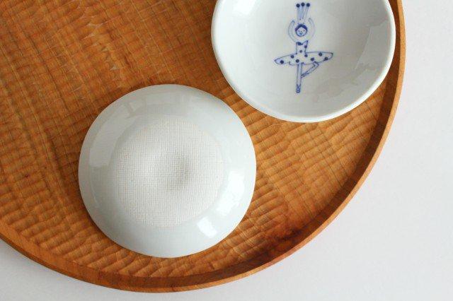 丸小皿 バレリーナ 磁器 森陶房 砥部焼 画像2