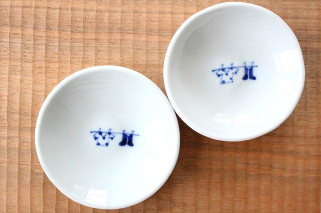 丸小皿 お洗濯 磁器 森陶房 砥部焼 画像5