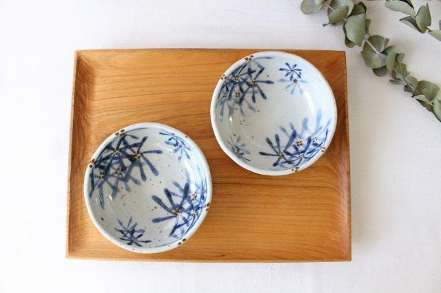 たたら作り小鉢 ガーベラ 半磁器 森陶房 砥部焼 画像6