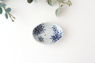 小判皿 ガーベラ 半磁器 森陶房 砥部焼商品画像
