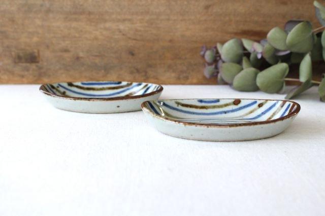 小判皿 麦わら 半磁器 森陶房 砥部焼 画像2