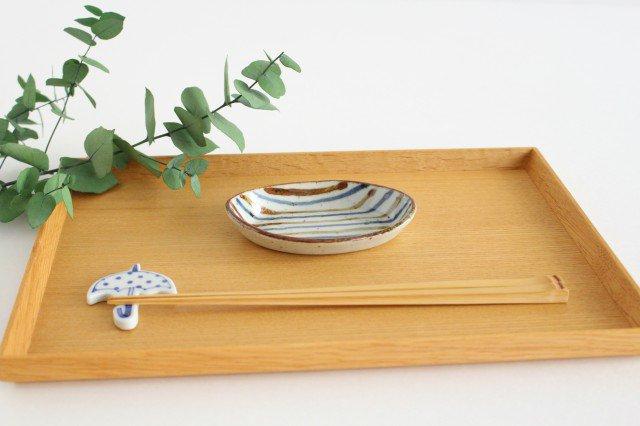 小判皿 麦わら 半磁器 森陶房 砥部焼 画像3