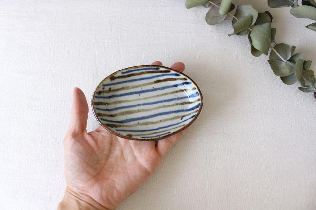 小判皿 麦わら 半磁器 森陶房 砥部焼 画像4