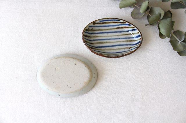 小判皿 麦わら 半磁器 森陶房 砥部焼 画像5