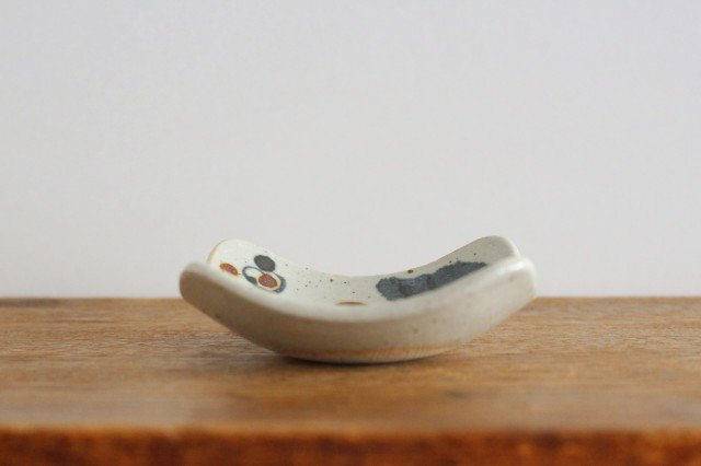 角小皿 木の葉 半磁器 森陶房 砥部焼 画像5