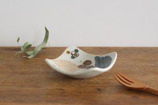 角小皿 木の葉 半磁器 砥部焼 森陶房商品画像
