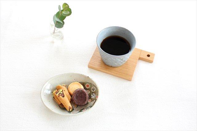 楕円小皿 小さな森 半磁器 森陶房 砥部焼 画像3