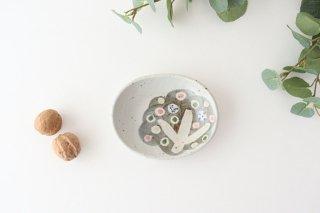 楕円小皿 小さな森 半磁器 森陶房 砥部焼商品画像