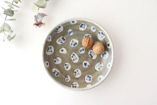 銘々皿 特大 さくらんぼ 半磁器 森陶房 砥部焼商品画像