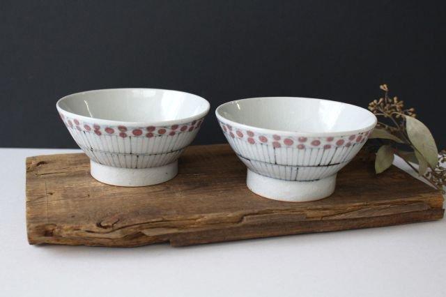 古砥部文 茶碗 小 花垣 磁器 陶彩窯 長戸製陶所 砥部焼 画像3