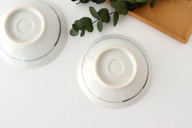 古砥部文 玉ぶち皿 小 花垣 磁器 陶彩窯 長戸製陶所 砥部焼 画像4