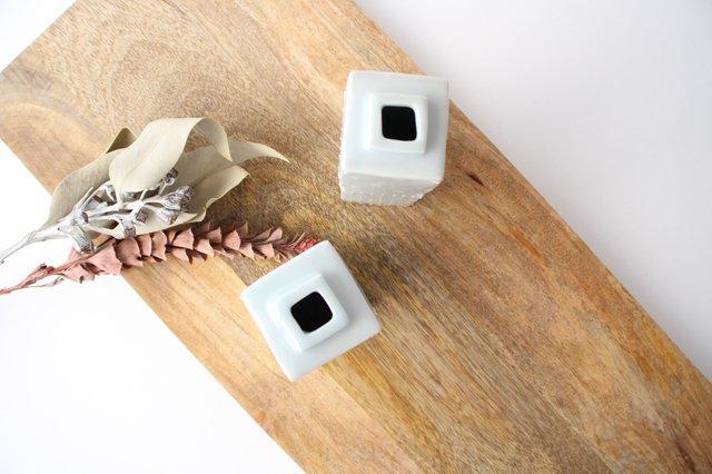 いっちん四角花器 大 陶磁器 砥部焼 陶彩窯 画像2